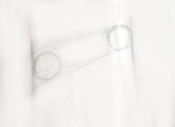 Step 2-dog eye drawing