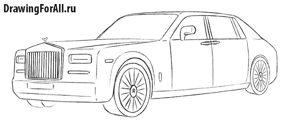 Easy Sketches Of Cars