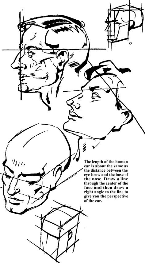 how to draw human noses colouring pages page 2