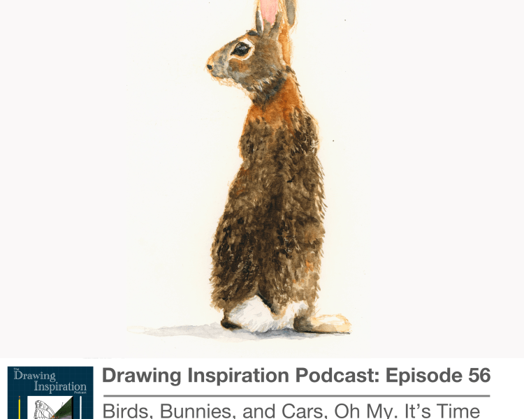 56: Birds, Bunnies and Cars, Oh My! It's Time for Creative Check-in