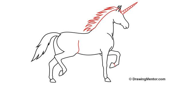How To Draw A Unicorn Tutorial