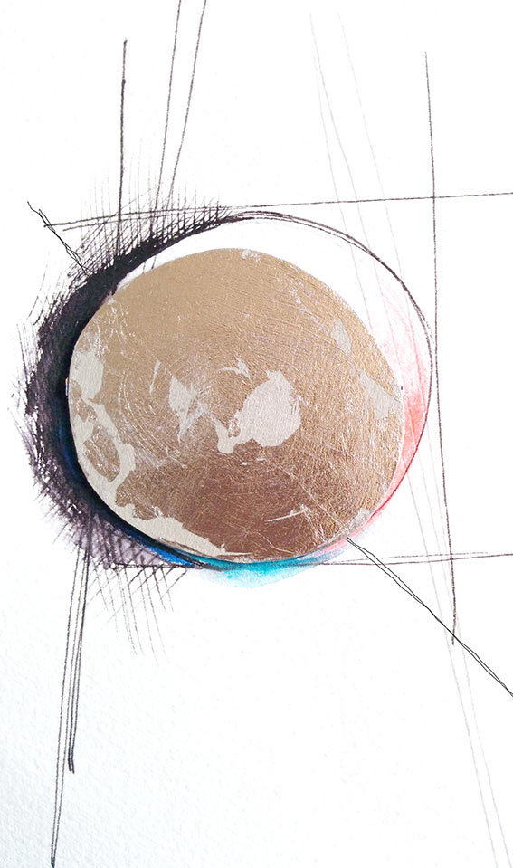 Tide-Oyster-II by Victoria Burton-Davey at Drawing On Nature
