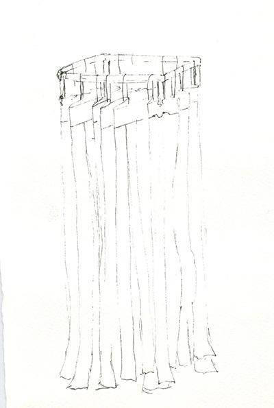 Curtain by Victoria Burton-Davey