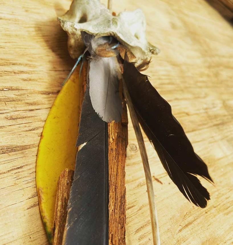 Wooland Totemn by Victoria Burton-Davey