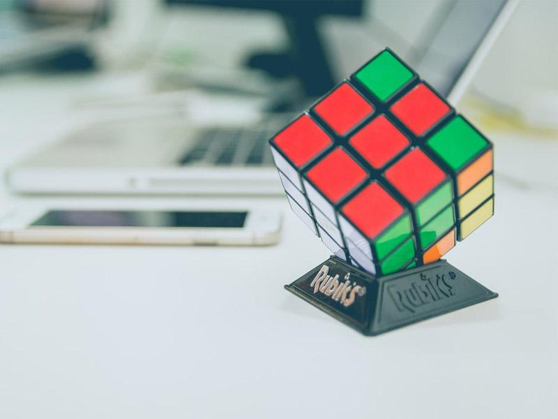 How can solving the Rubik's cube help grow your faith in God?