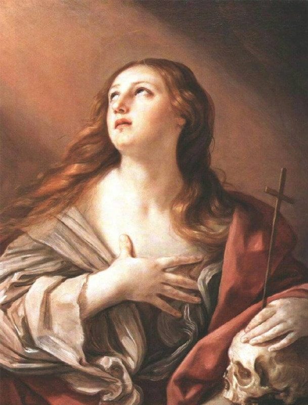 The Penitent Magdalene by Guido Reni (1635)