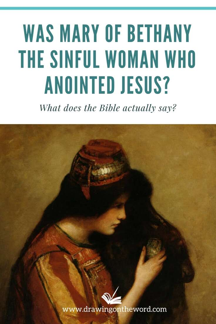 Was Mary of Bethany the sinful woman who anointed Jesus in Luke's Gospel? Does Luke 7:36-50 describe the same anointing as Matthew, Mark and John? #maryofbethany #marymagdalene #maryandmartha #marthaandmary #sinfulwoman #anointingofjesus #lukesgospel