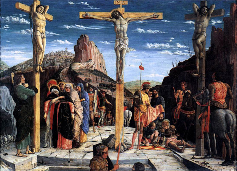 Crucifixion by Andrea Mantegna, 1459