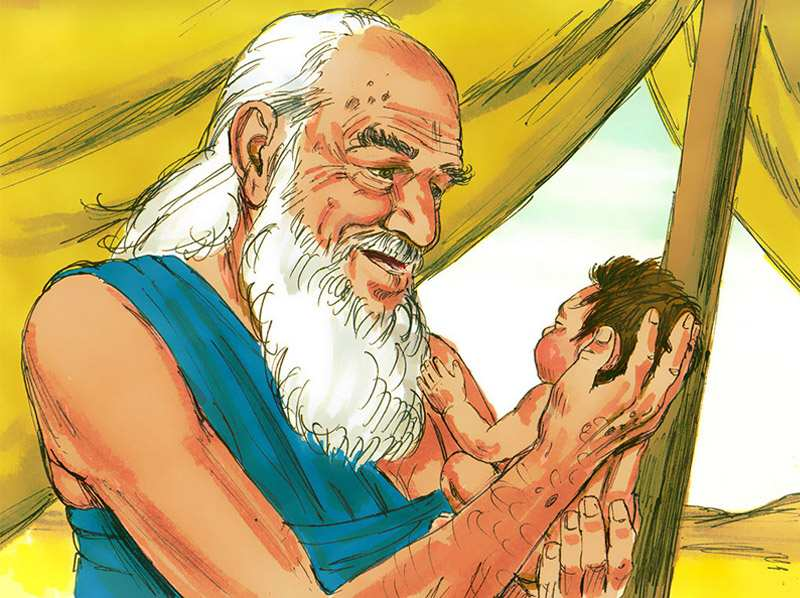 A son is born to Abraham