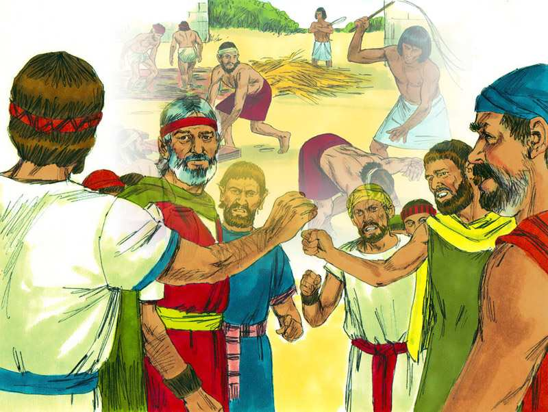 The Israelites wanted to go back to Egypt