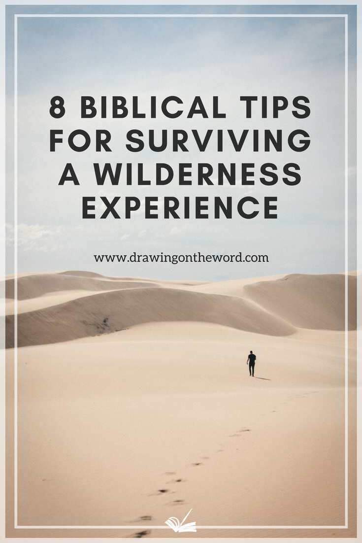 8 Biblical tips for surviving a wilderness experience