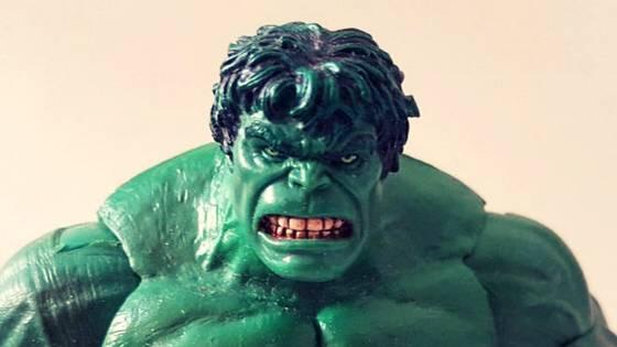 Hulk anger