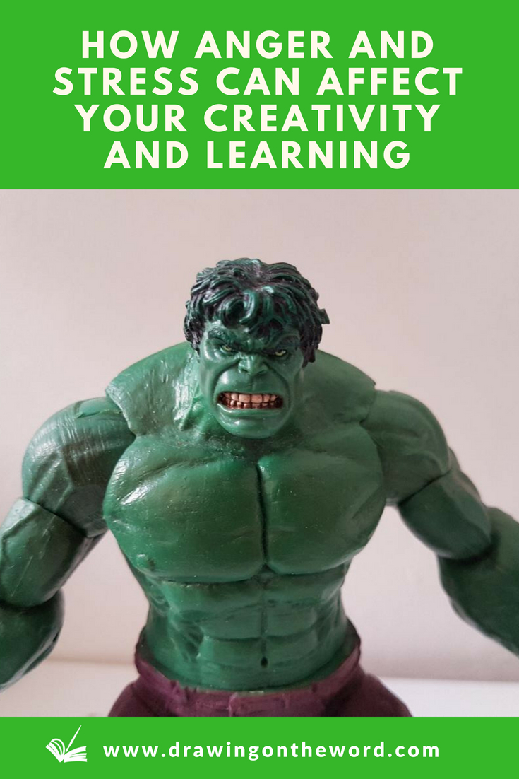 Do you ever find that when you're angry or stressed you're unable to function properly? Discover how anger and stress can affect your creativity and learning and the practical steps you can take to overcome it. #creativity #creativefaith #triunebrain #reptilianbrain #anger #stress #overcominganger #multipleintelligences #hulk #incrediblehulk