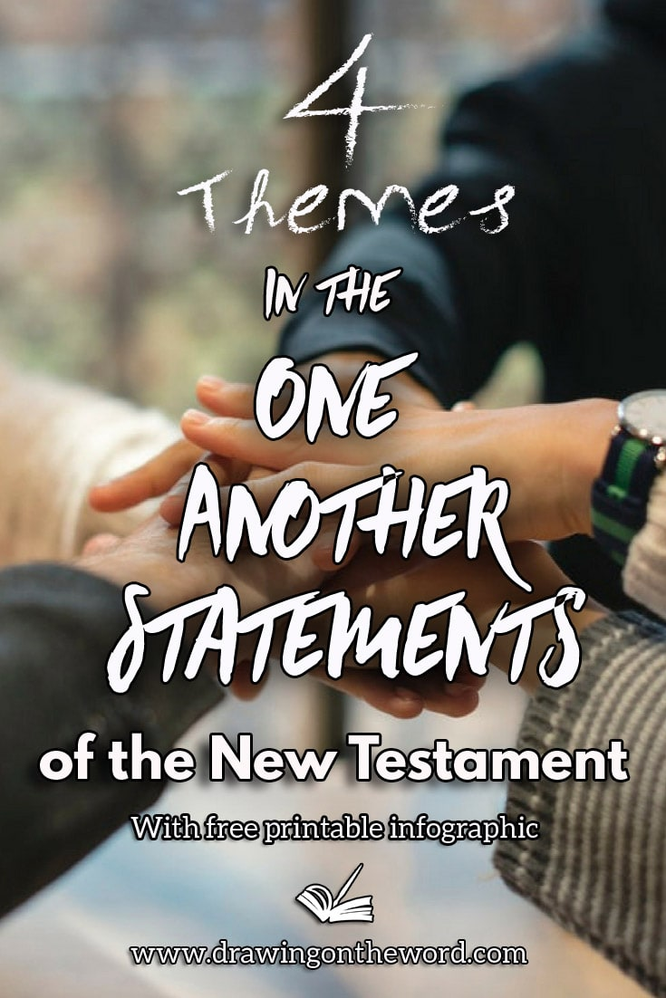 4 Themes in the one another statements of the New Testament