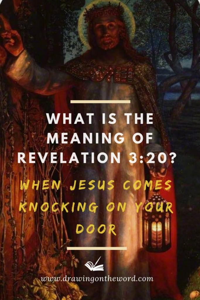 Revelation 3:20 is one of the most misused verses by evangelists. What is the true meaning of the verse when Jesus knocking on your door? #revelation3v20 #beholdistandatthedoor #revelation