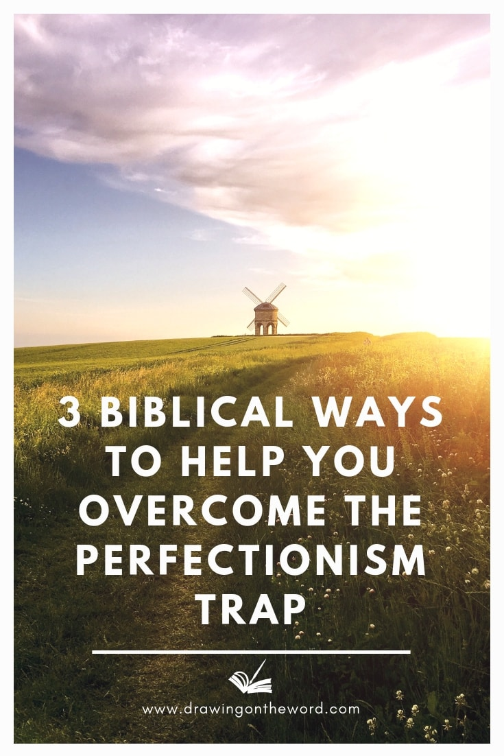 Do you procrastinate because you need everything to be perfect or you fear failure? Here are 3 biblical ways to help you overcome the perfectionism trap.  #perfectionism #faith #trust #ecclesiastes #trustingod