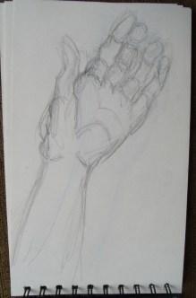 Gesture practice - hands 8