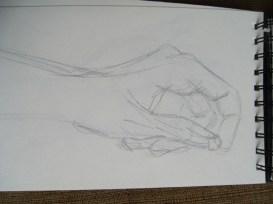 Gesture practice - hands 10