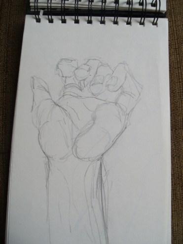 Gesture practice - hands 1
