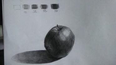 Greyscale - apple