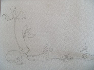 sketch from the dry twigs