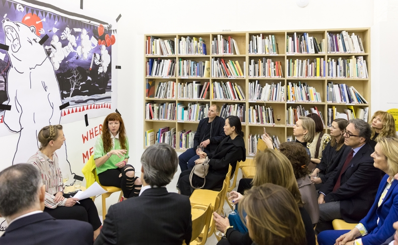 Kate Macfarlane and Heather Phillipson in conversation