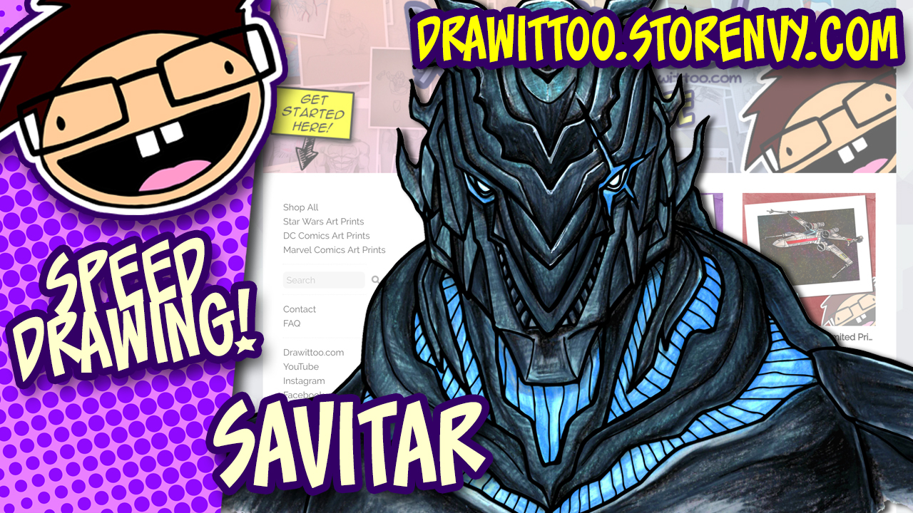 NEW ART STORE! (Also, Colouring Savitar)