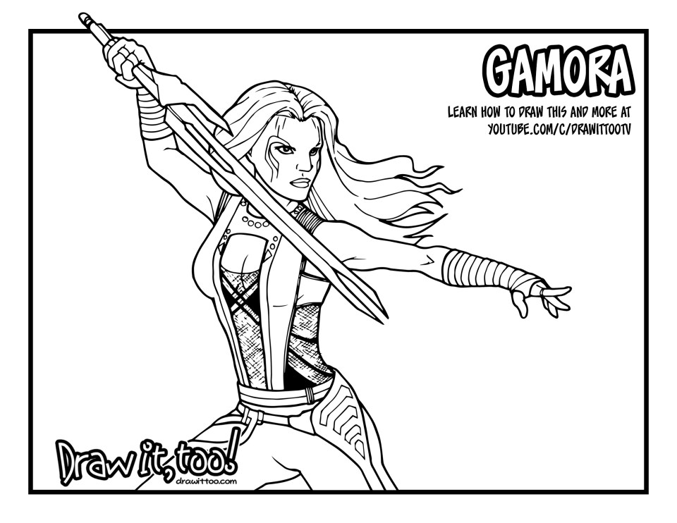 Guardians Of The Galaxy Vol  Coloring Pages