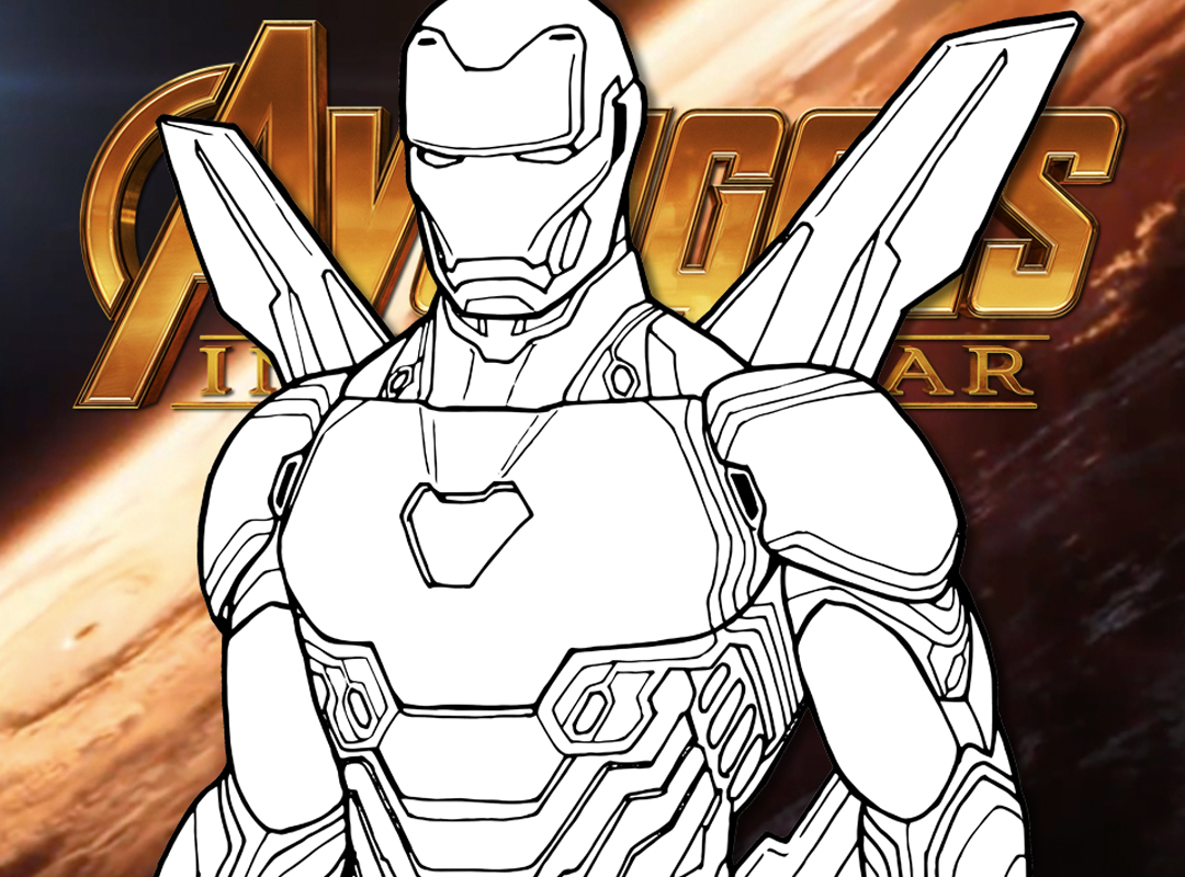 How To Draw Iron Man Avengers Infinity War Drawing Tutorial Draw It Too