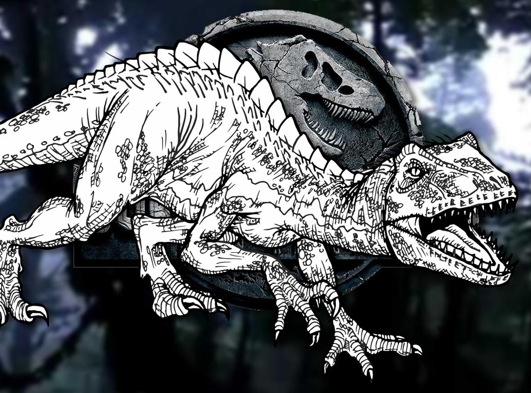 How To Draw The Indoraptor Jurassic World Fallen Kingdom Drawing