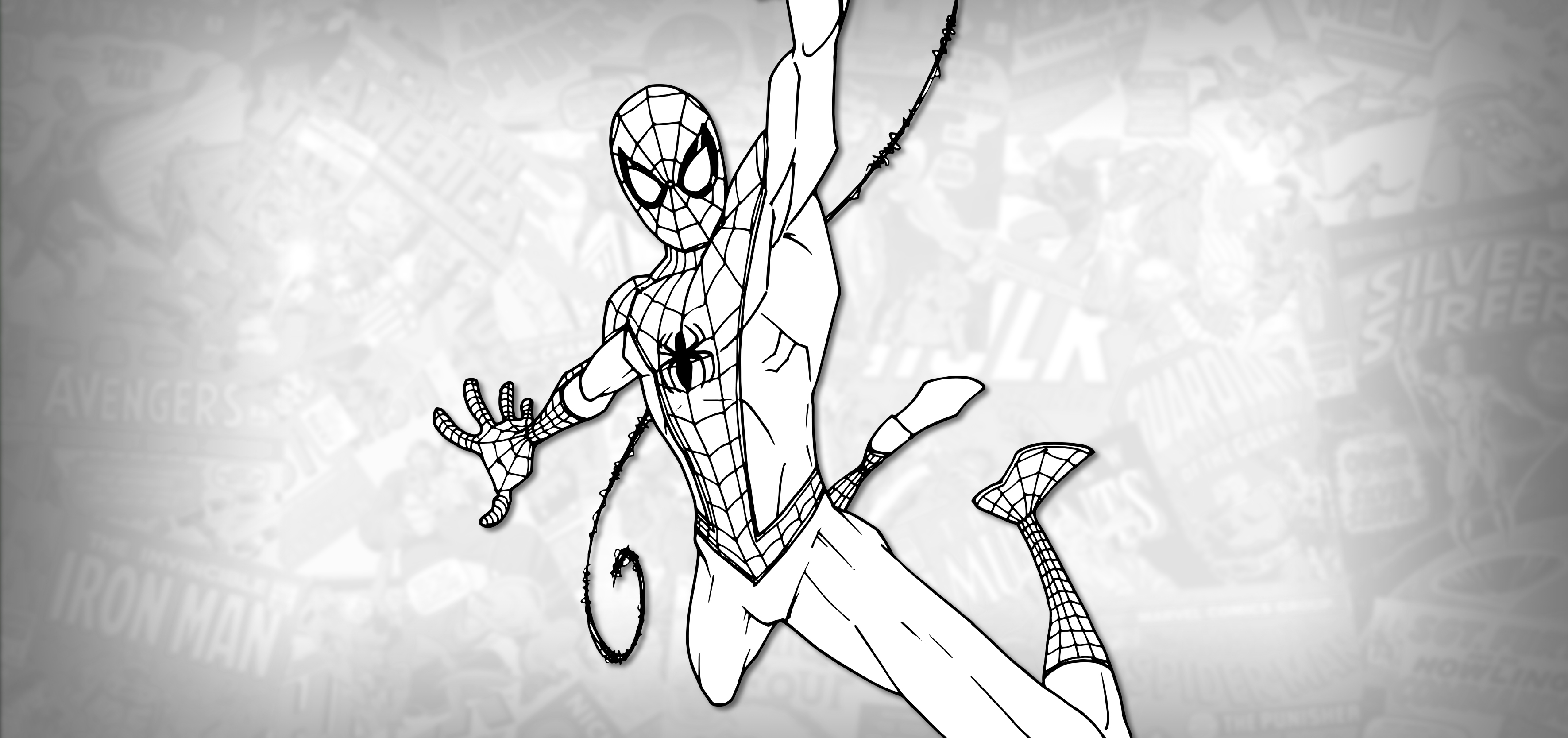 How To Draw Spider Man Into The Spider Verse Drawing Tutorial Draw It Too