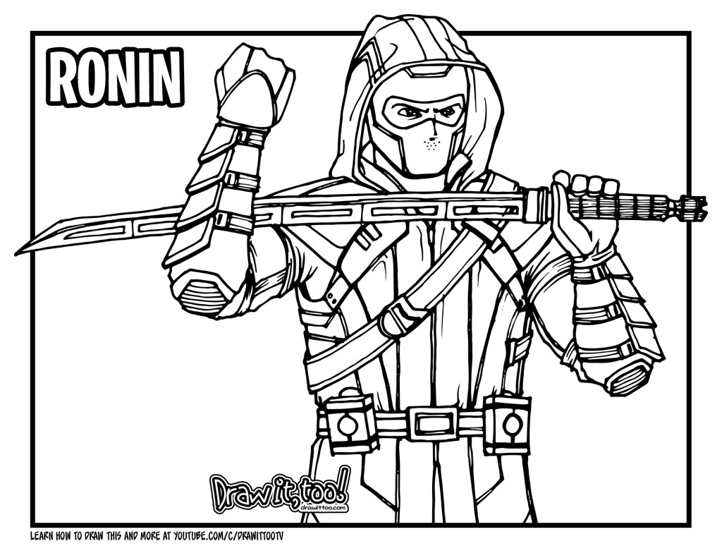 How to Draw RONIN HAWKEYE Avengers