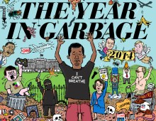 The Year in Garbage / The Nib