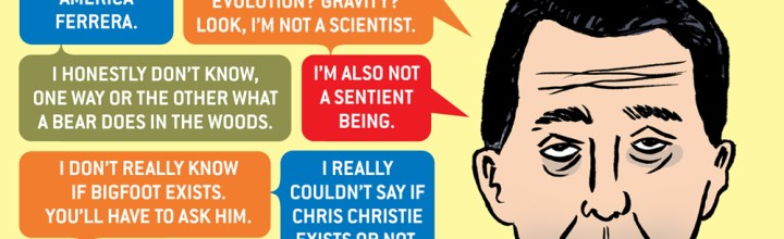 American Affairs Desk Comics: Scott Walker Don't Know Shit