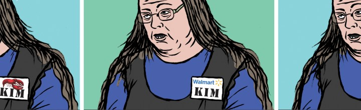 Kim Davis' Job Prospects: American Affairs Desk Comics