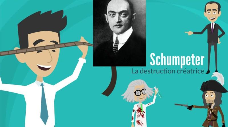 Schumpeter, l'entrepreneur et la destruction créatrice.