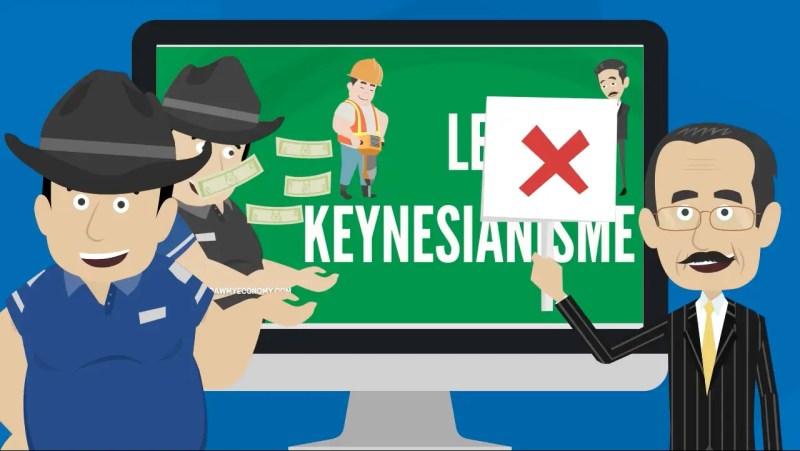Friedrich Hayeck s'oppose au Keynesianisme