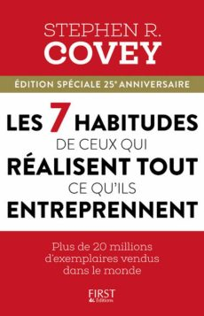 Photo du livre de Stephen Covey