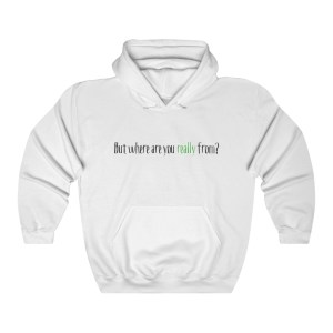 'THAT question' – Hooded Sweatshirt