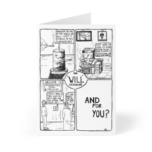 'We 'will' celebrate' Greeting Cards (8 pcs)