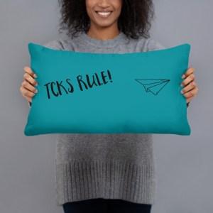 'TCKs Rule!' Pillow