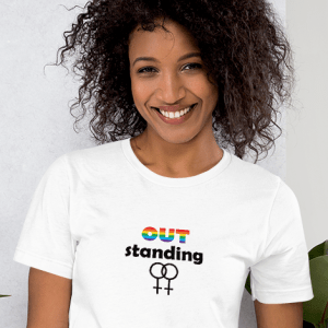 'OUTstanding' – PRIDE tshirt