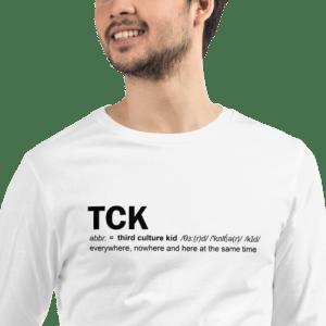 Third Culture Kid long sleeve tee – unisex