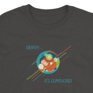 'Identity.. It's Complicated' – Kids T-Shirt