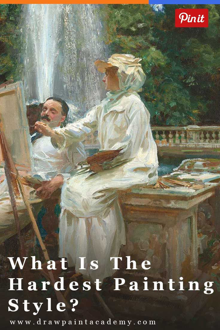 What Is The Hardest Painting Style? Is it abstract, realism, impressionism or expressionism? Have you say here!