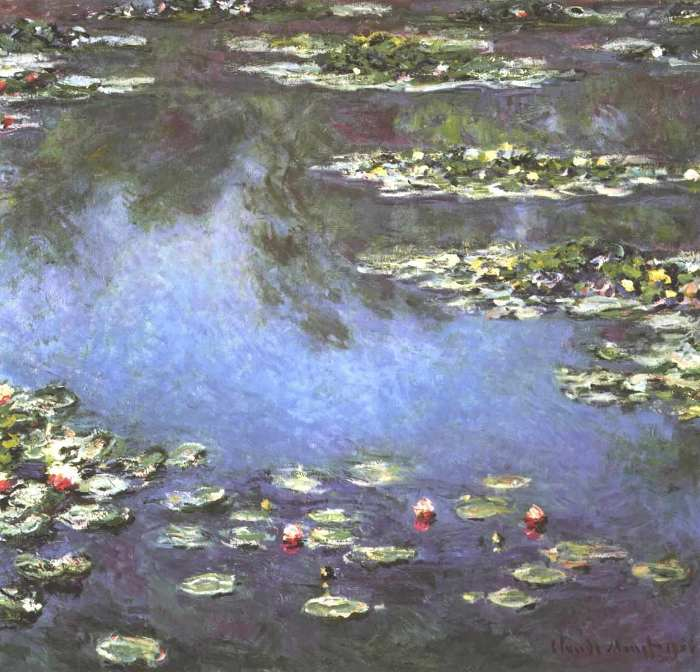 ClauClaude Monet, Waterlilies, 1906de Monet, Waterlilies, 1906