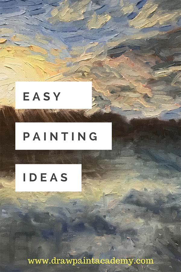 Stuck for painting inspiration? Check out these simple and easy canvas painting ideas for beginners. These are classic subjects which are sure to give you some inspiration for your next painting.