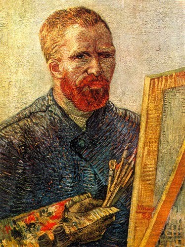 Van Gogh Whilst Painting
