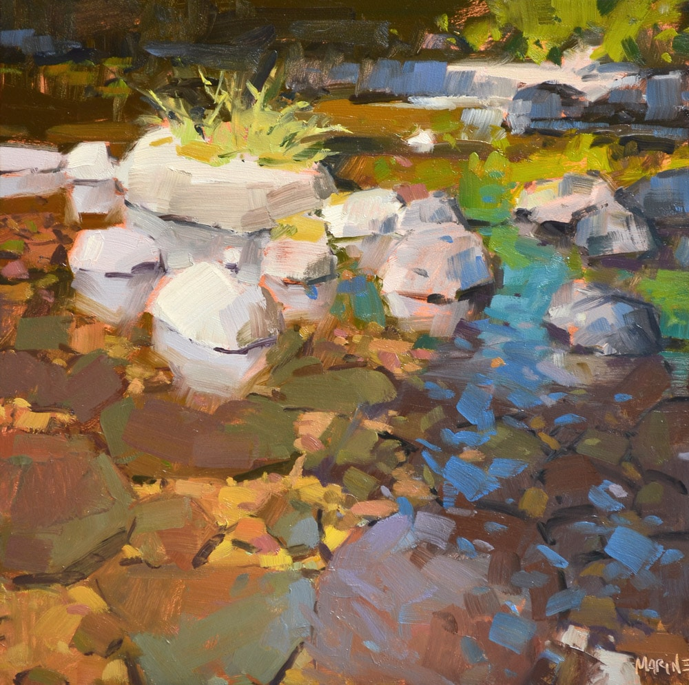 Carol Marine, Sweet Creek, 8x8 Inches