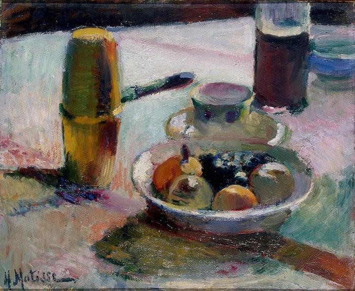Henri Matisse, Fruit and Coffeepot, 1898